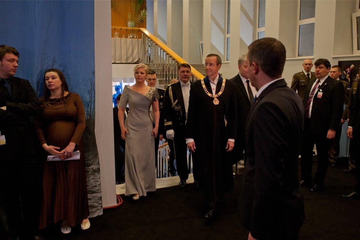 Evelin Ilves vabariigi aastapäeva vastuvõtul 2007-2012
