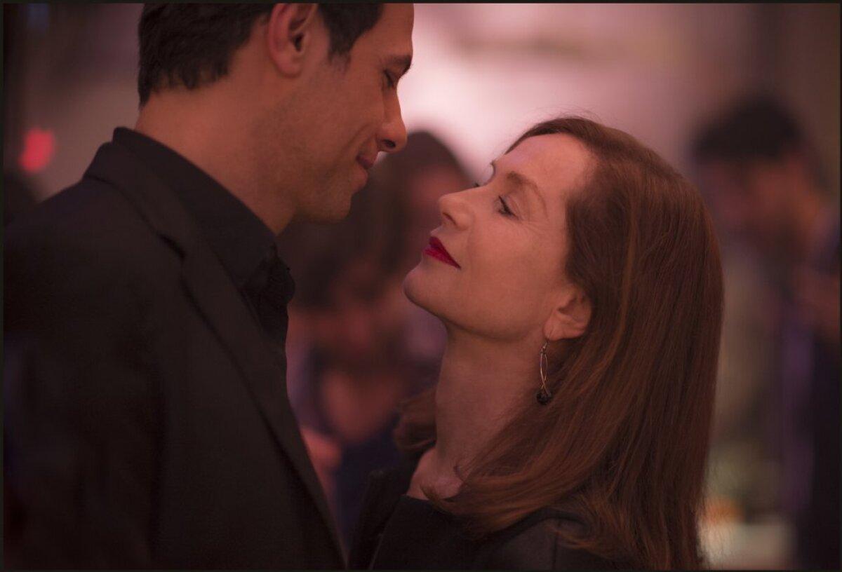 "Laurent Lafitte ja Isabelle Huppert filmis ""Elle"". (Foto: Forum Cinemas AS)"