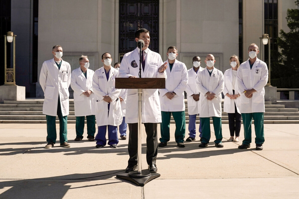 Valge Maja arst dr Sean Conley
