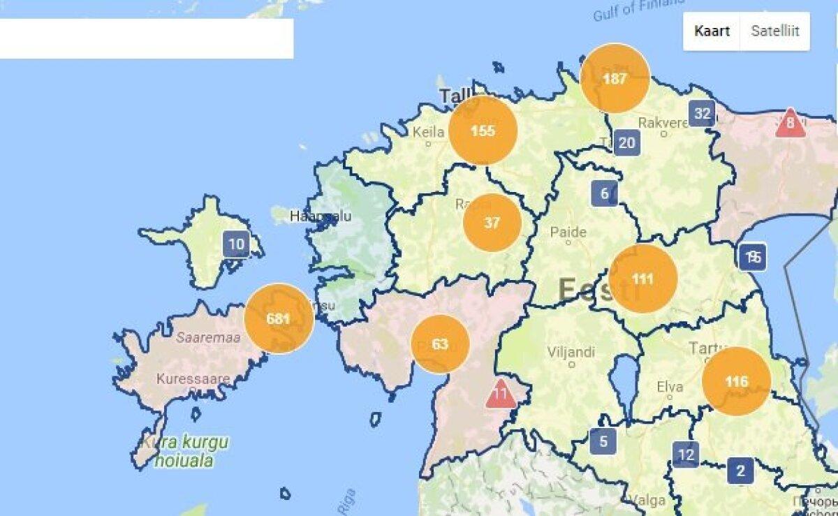 Muhu saarel on ligi 700 majapidamist elektrita