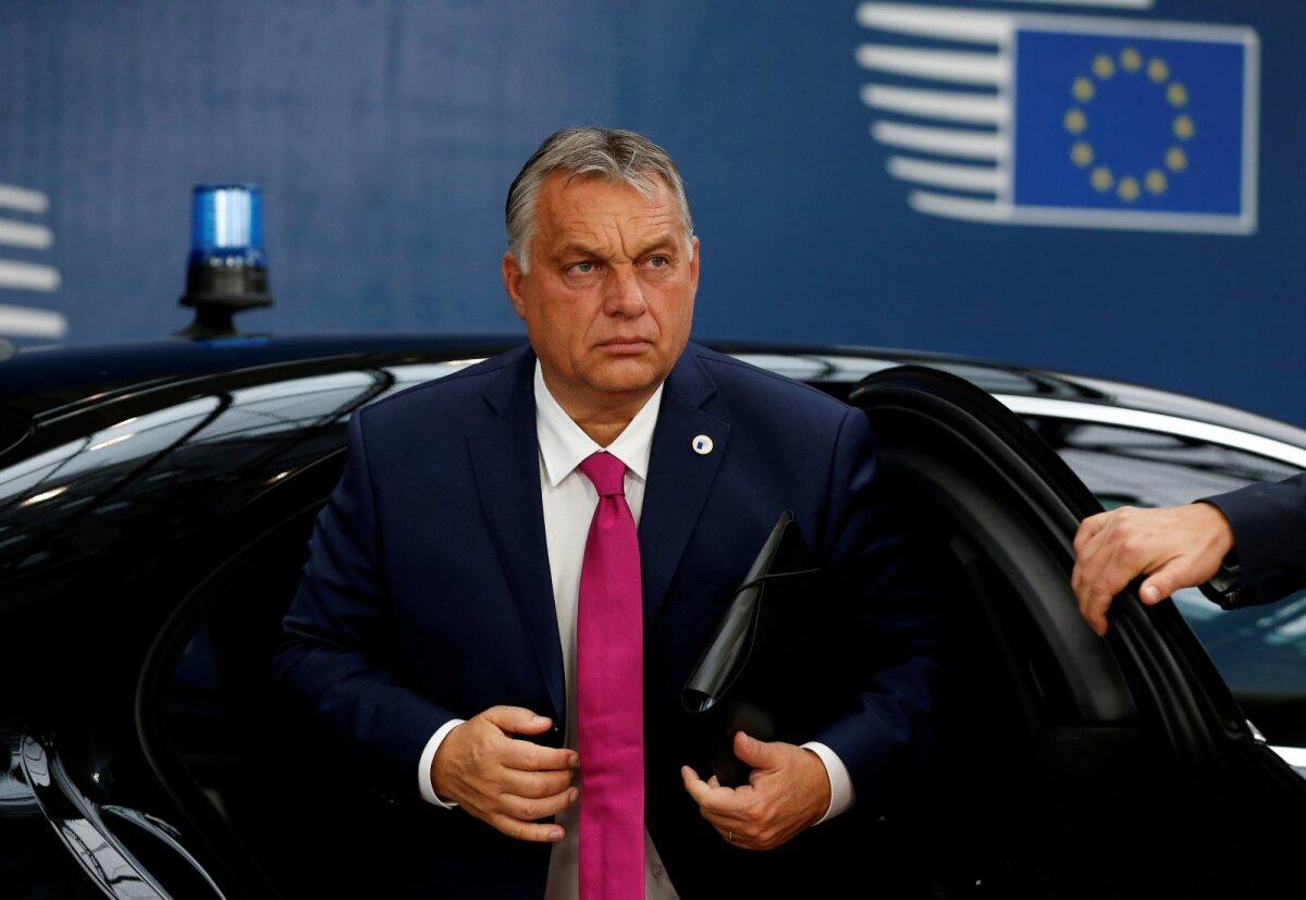 Ungari peaminister Viktor Orban euroala tippkohtumisel Brüsselis 17. oktoobril