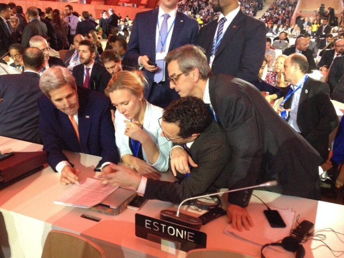 Kristi Klaas ja John Kerry