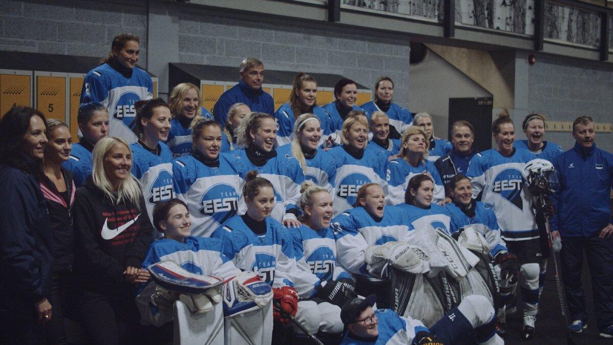 Эстонская женская сборная по хоккею с шайбой