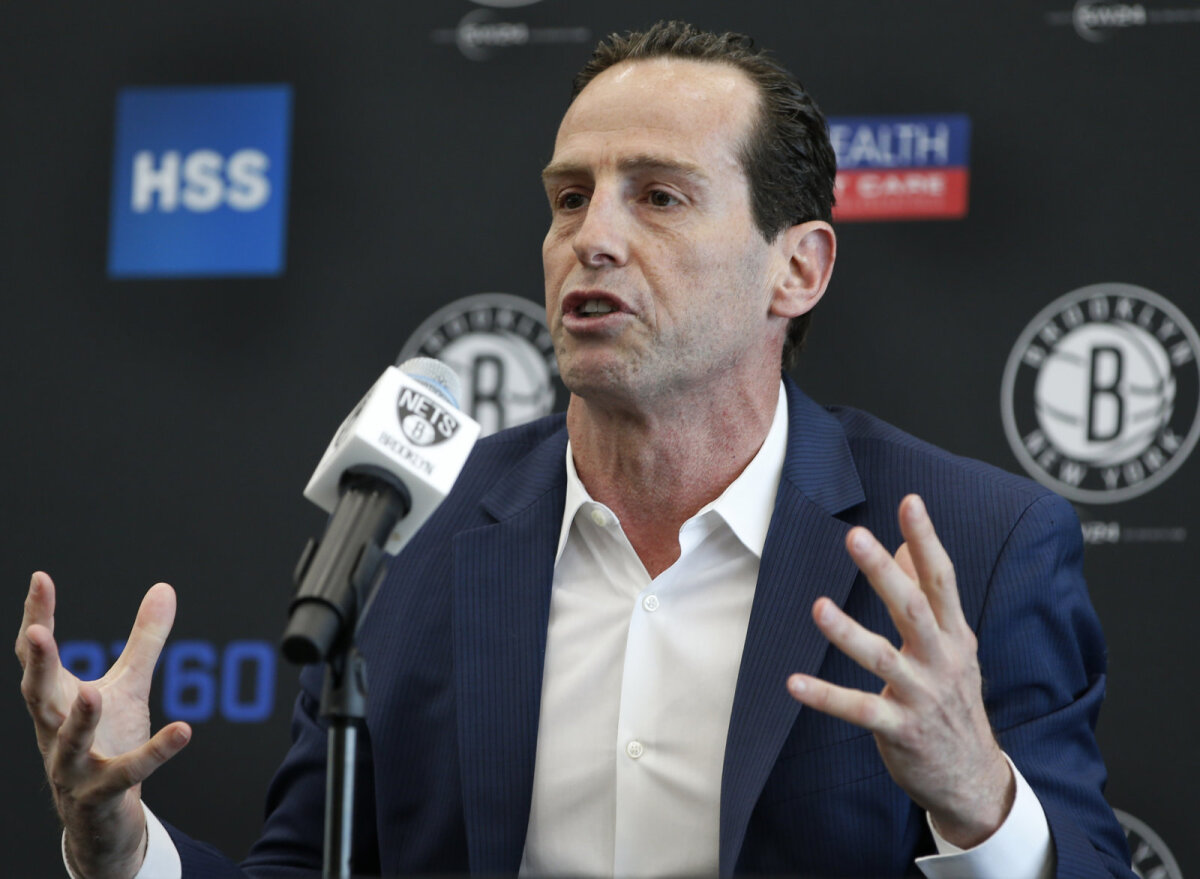 Netsi uus peatreener Kenny Atkinson.