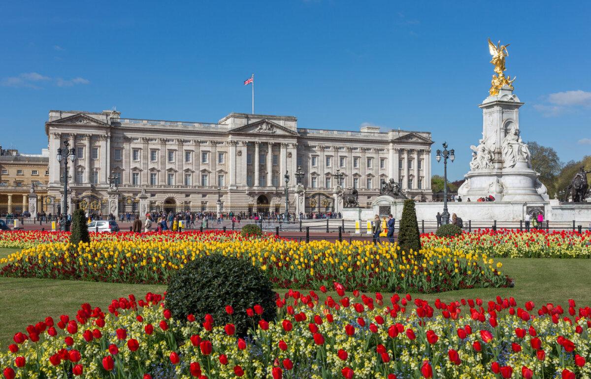Buckinghami palee aed