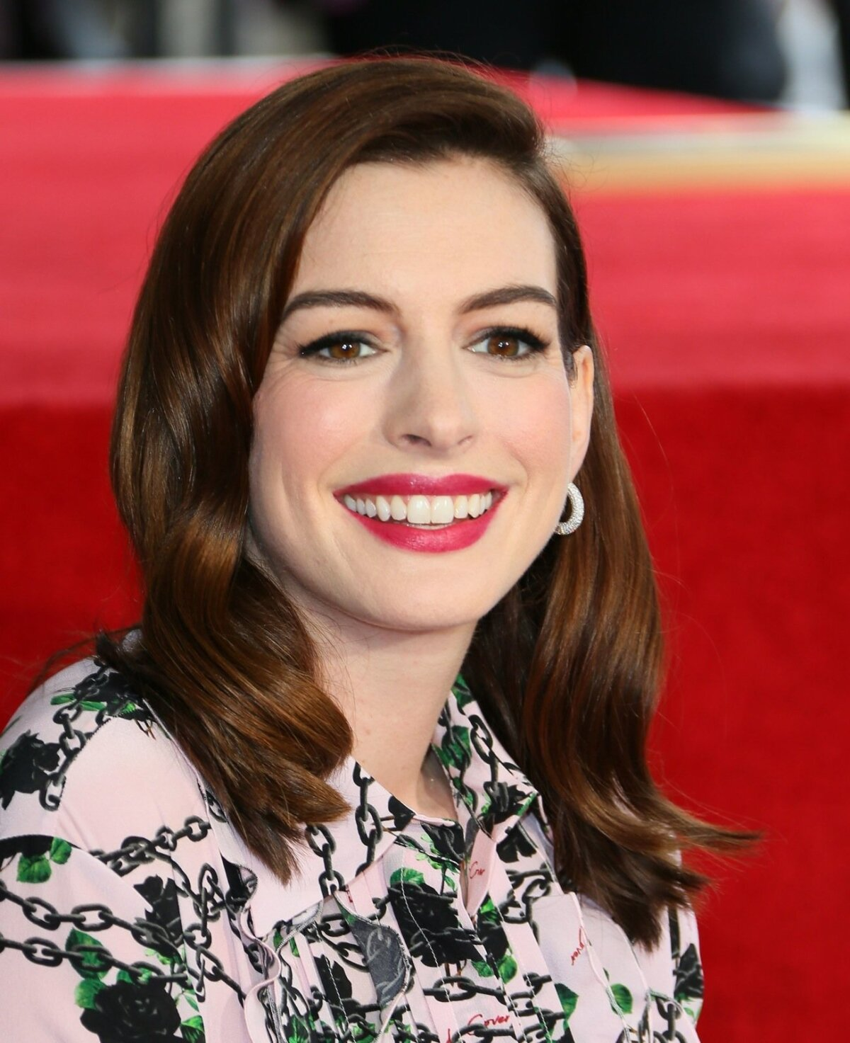 US actress Anne Hathaway unveils Walk of Fame star on Hollywood Boulevard
