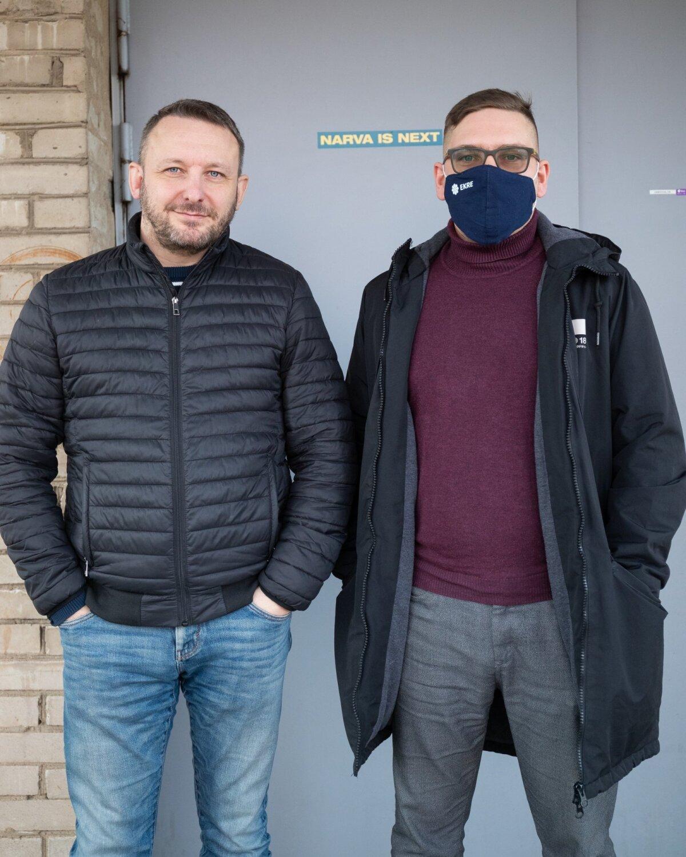 Дмитрий Гусев (слева) и Александр Андреев