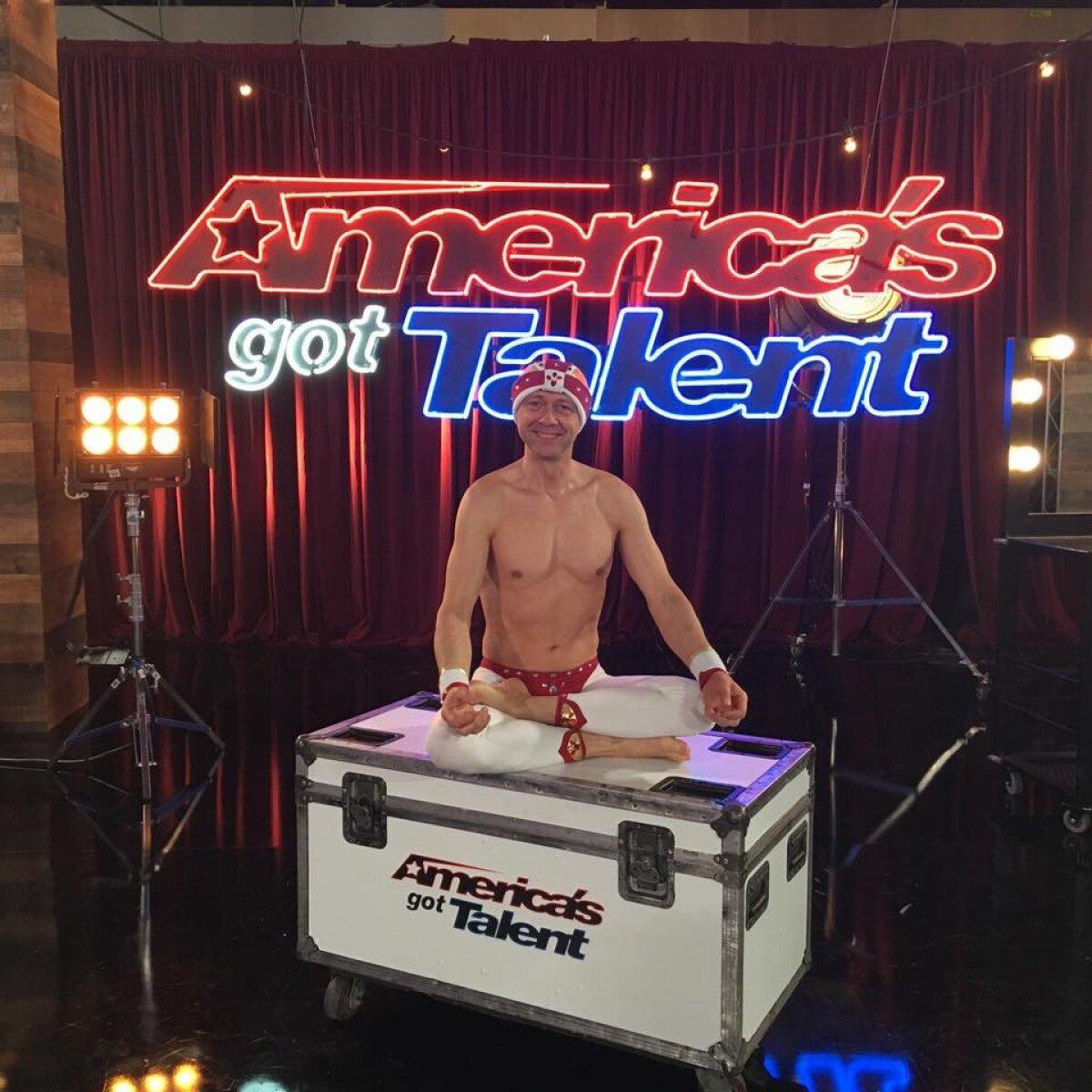 """Vello """"America's Got Talent"""" lava taga"""