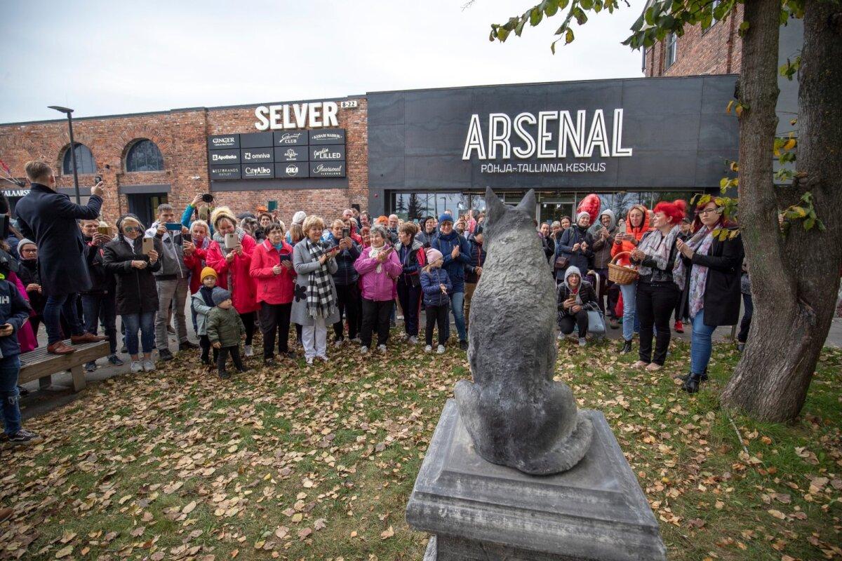 Žoriku kuju avamine Arsenali keskuse juures 4.10.2020