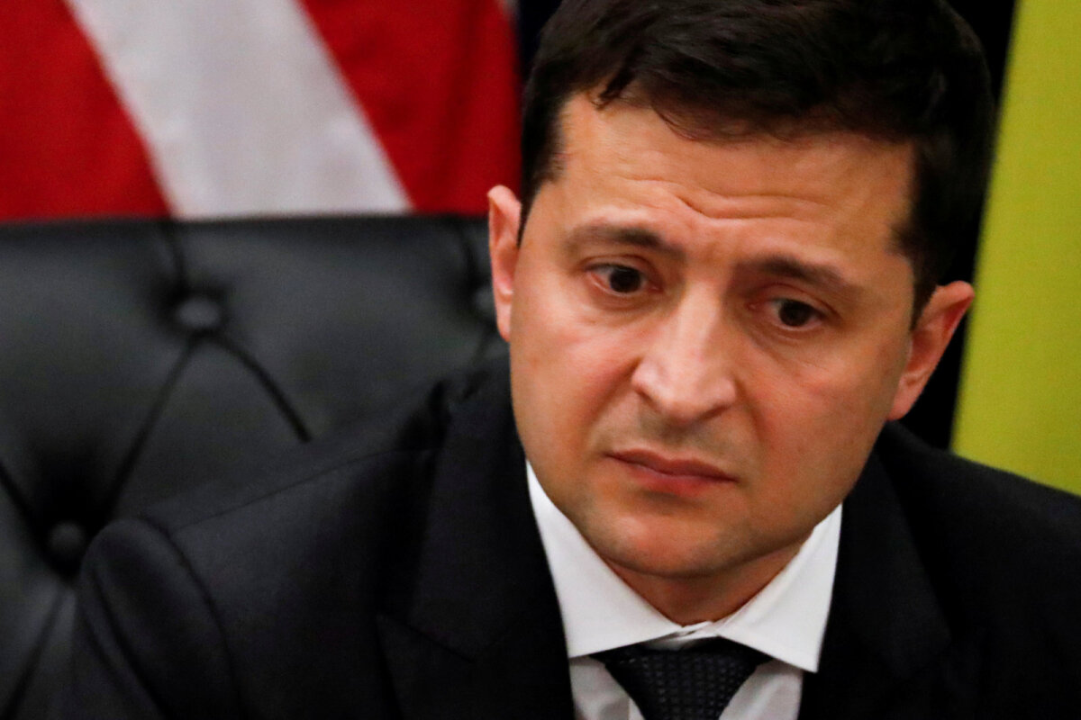 Ukraina riigipea Volodõmõr Zelenskõi.