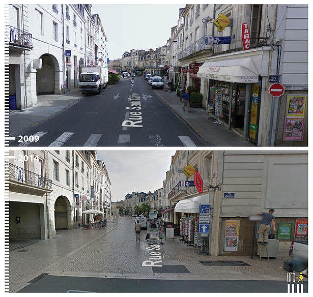Rue Sadi Carnot, Poitiers, Prantsusmaa