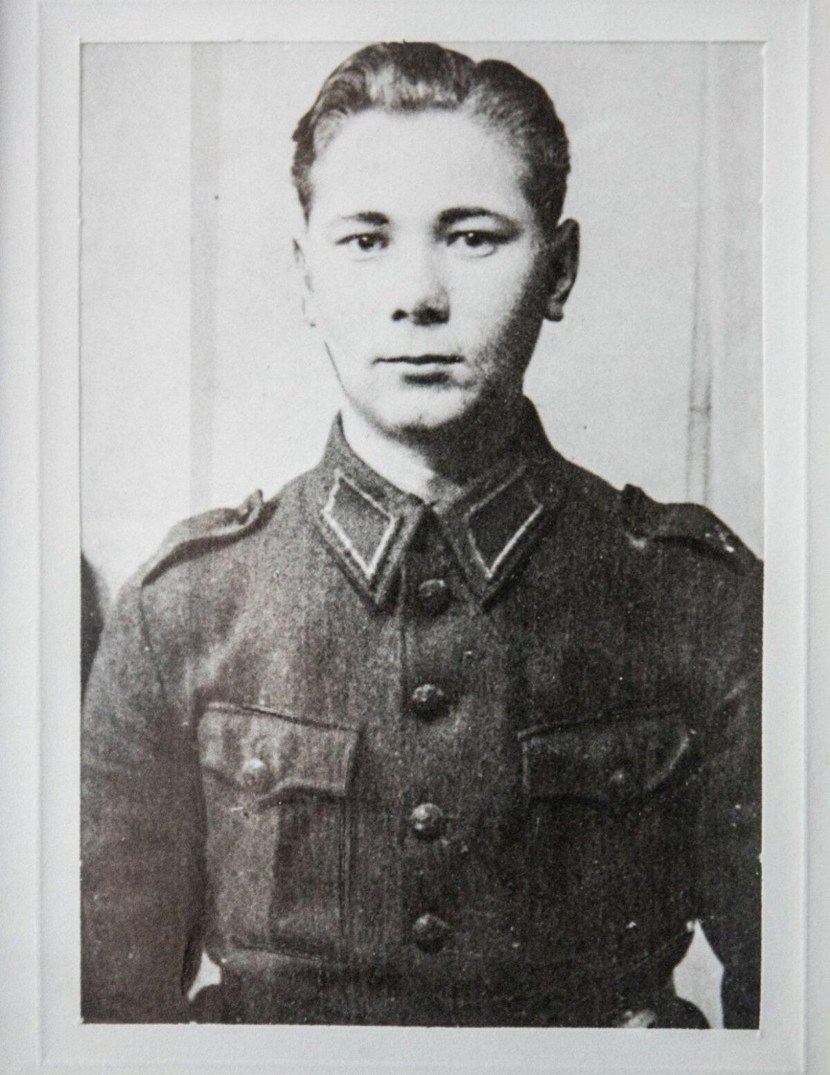 Noor Raul oma esimesel sõja-aastal