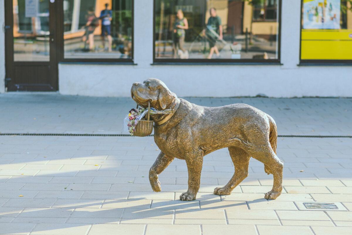 Skulptuur bernhardiin Bitele.
