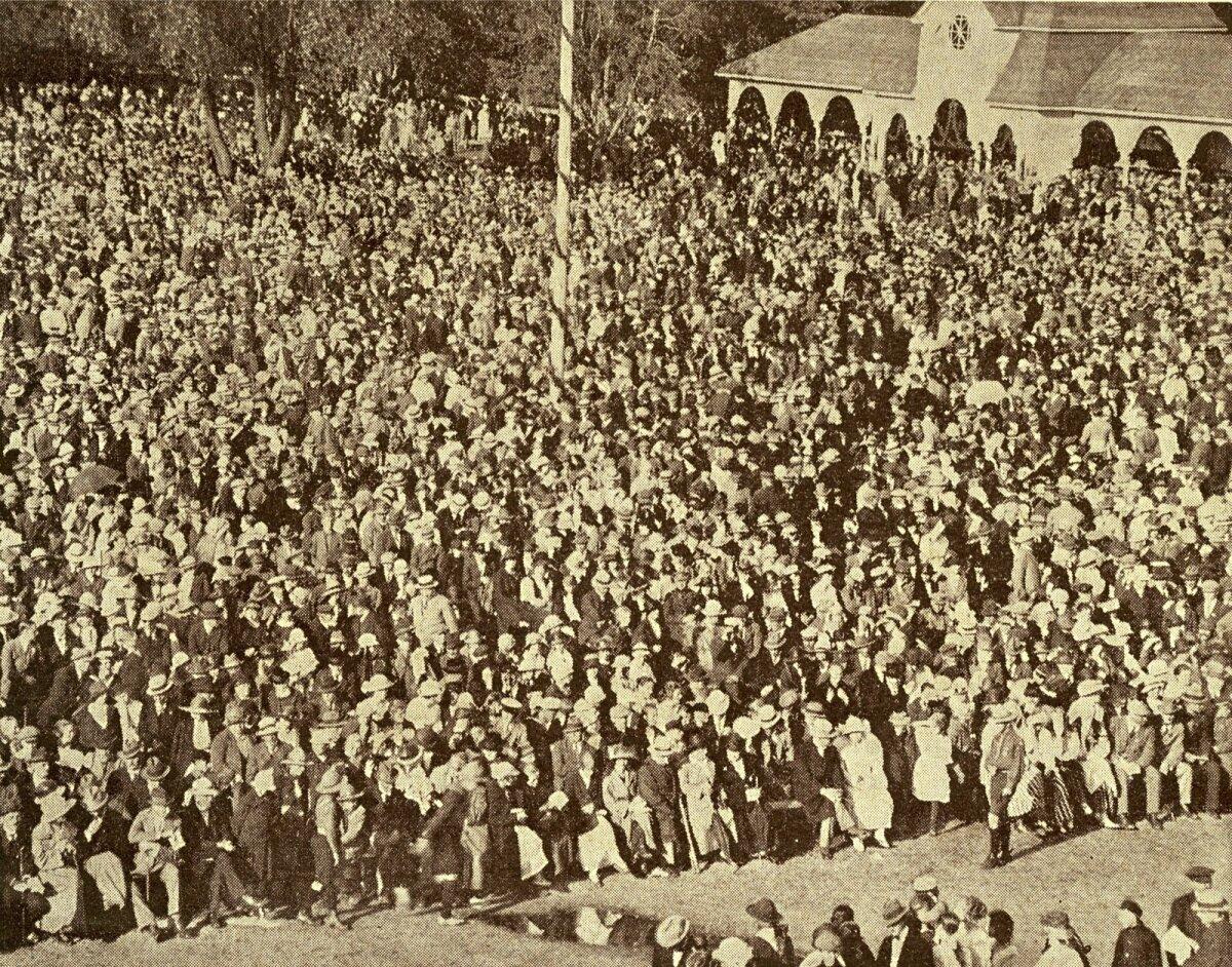 Siin fotol on üldlaulupidu Tallinnas 1923. aasta suvel.