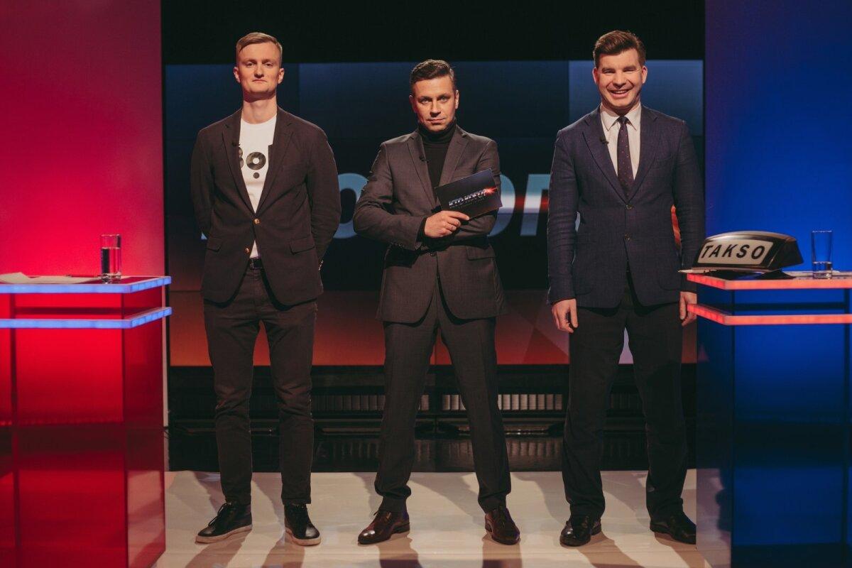 Легендарная передача с  Алексеем Колесниковым (слева) и Всеволод Юргенсоном (справа)