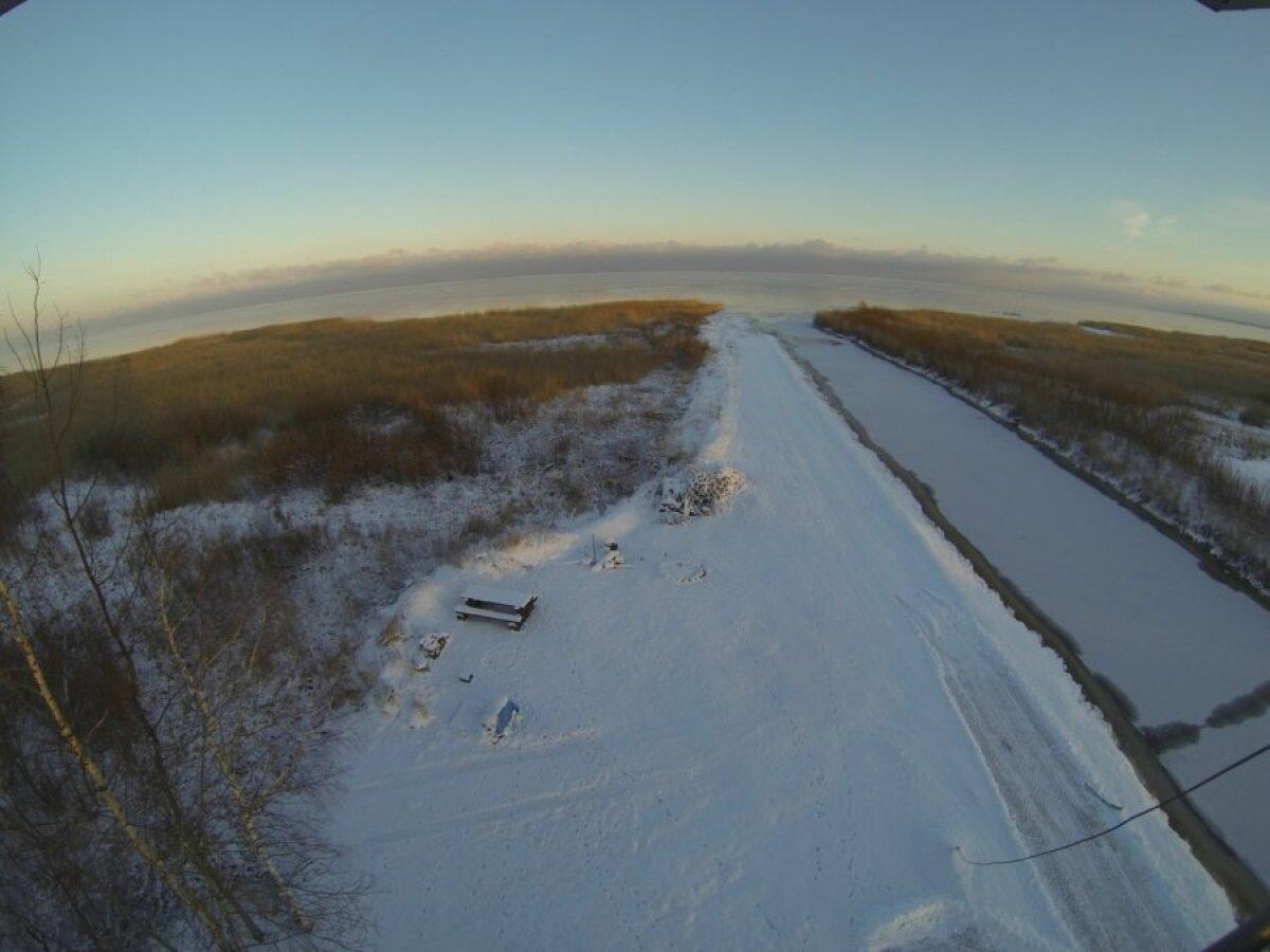 Peipsi jääolud täna, 14. jaanuaril.