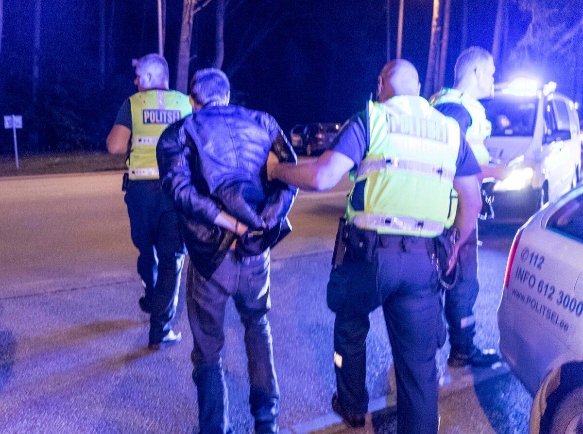 Politsei eest ära sõidul on vaid üks lõpp, arestimaja