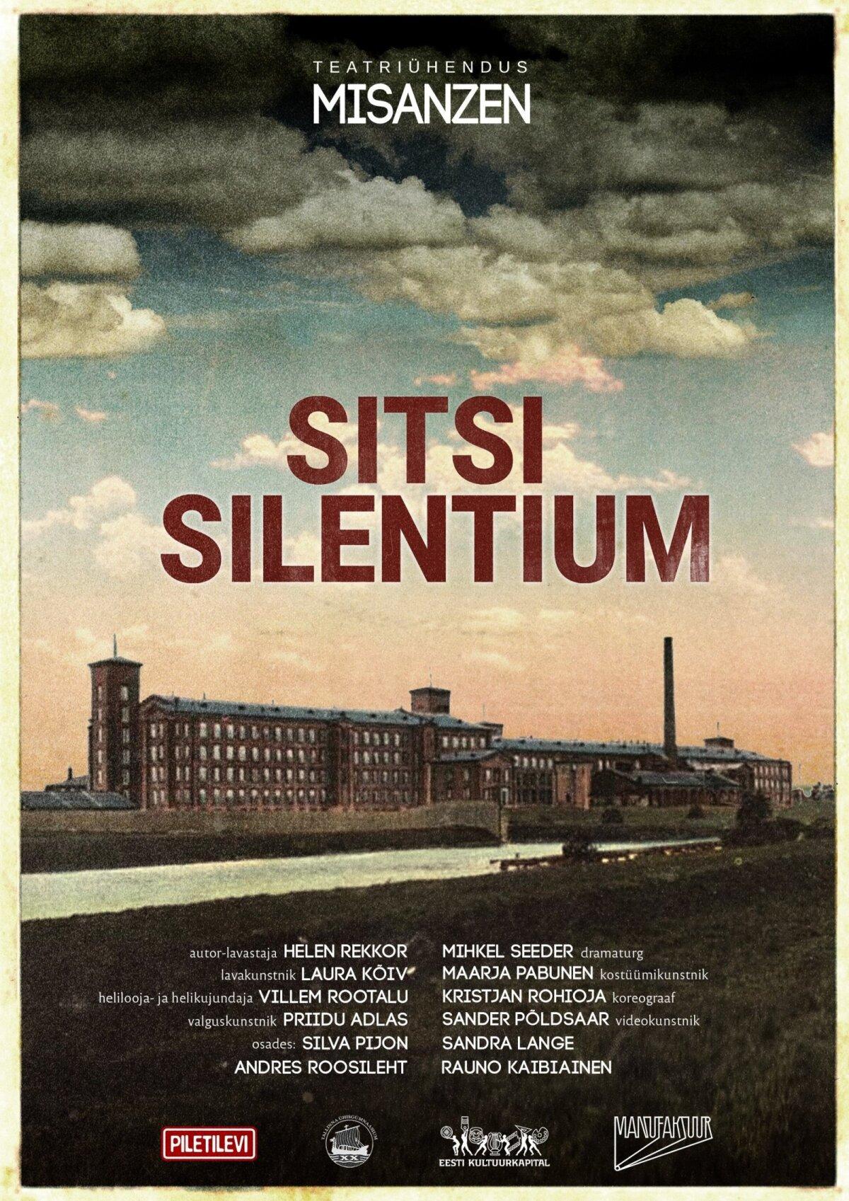"""""""Sitsi Silentium""""."""