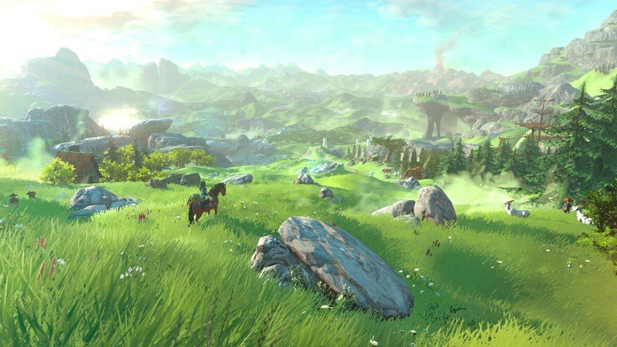2016. aastaks planeeritav Wii U uus Zelda (ekraanitõmmis)