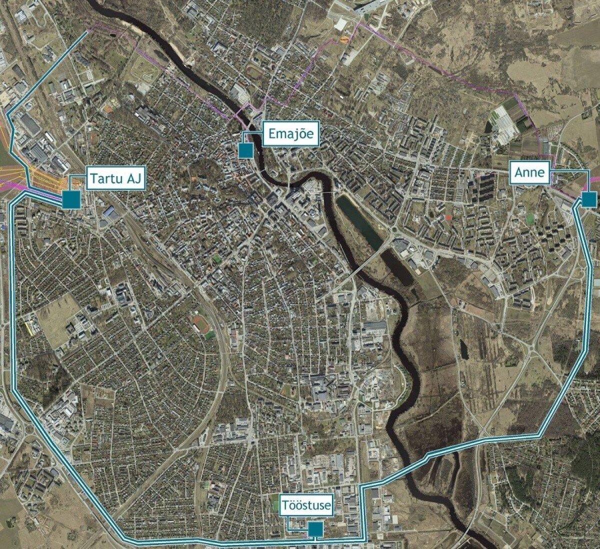 Maakaabliga asendatavad kõrgepingeliinid ja Eleringi alajaamad