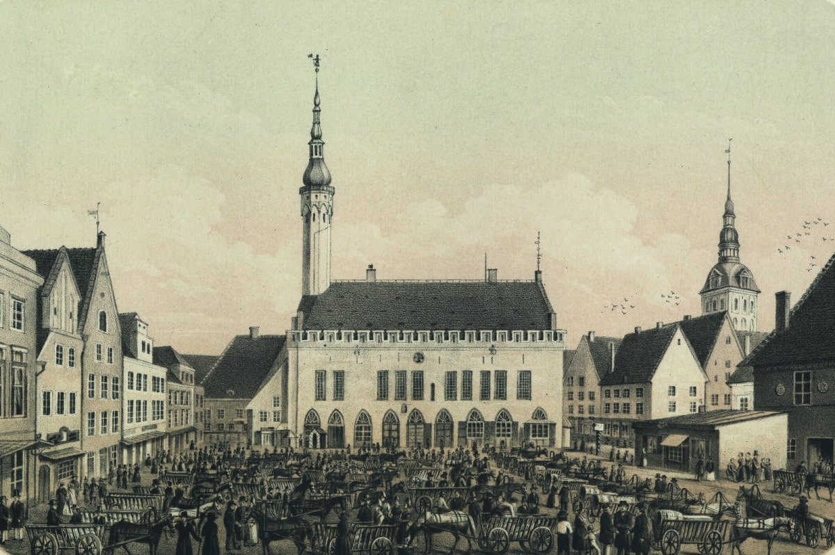 Suur turg Tallinna Raekoja platsil