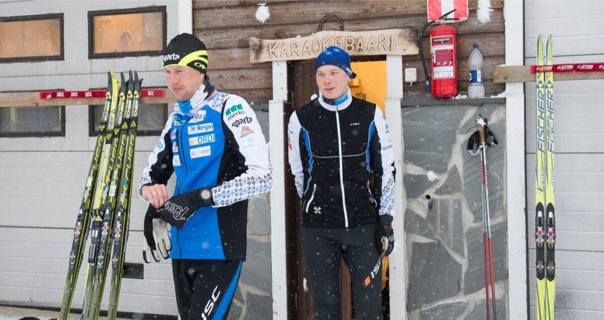 Aivar Rehemaa ja Karel Tammjärv