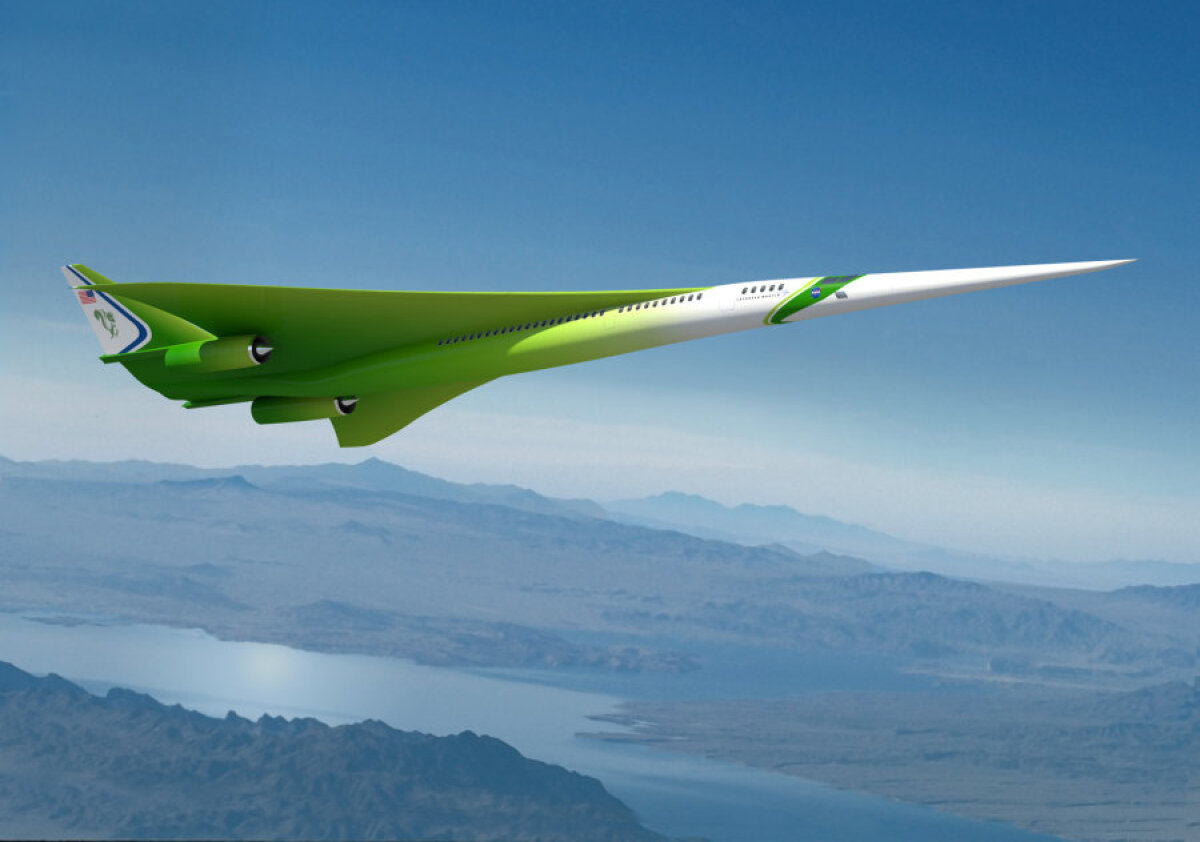 NASA ja Lockheed Martini kavand.
