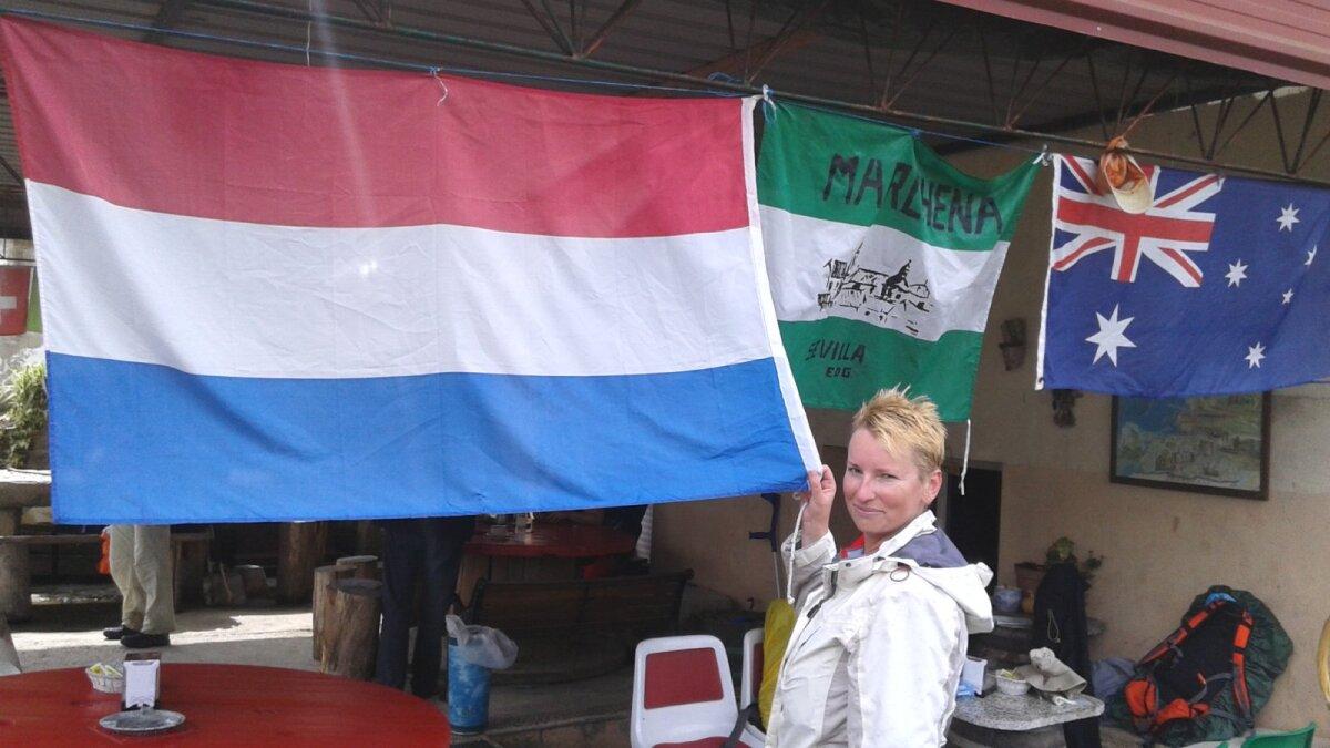 Leidsin ühes välikohvikus Hollandi lipu.
