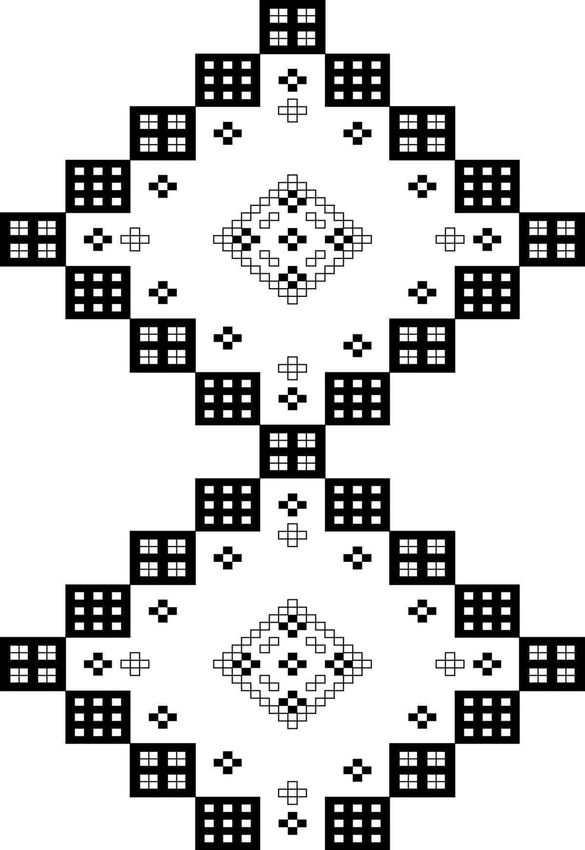 Hispaania tikandile on iseloomulikud geomeetrilised ornamendid.