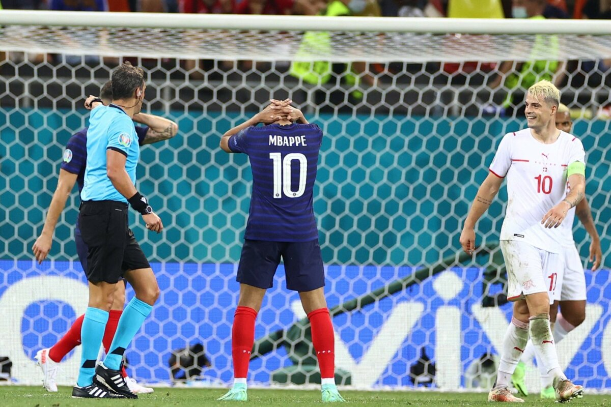 Kylian Mbappe luhtas mängus mitu head võimalust ning lõpuks jättis ta realiseerimata ka penaltiseeria otsustava löögi.