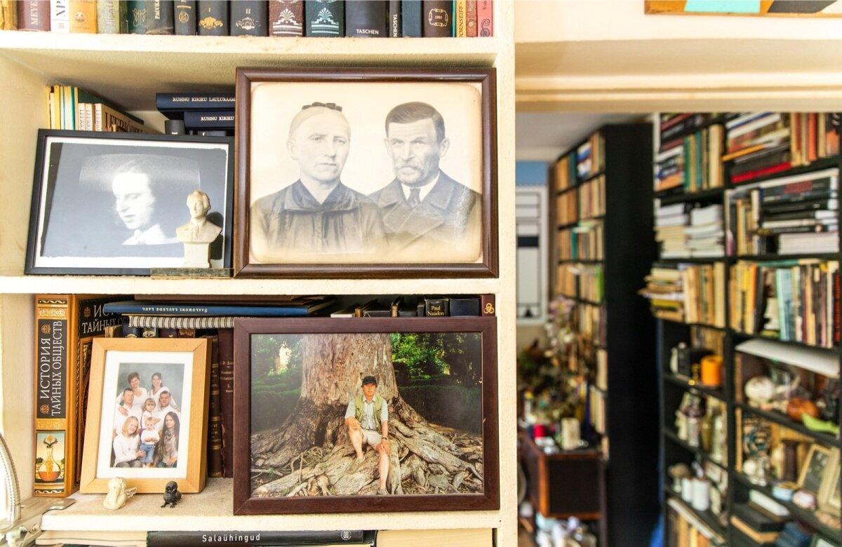 Mare elamises on tähtis koht mälestusesemetel ja lähedaste fotodel.