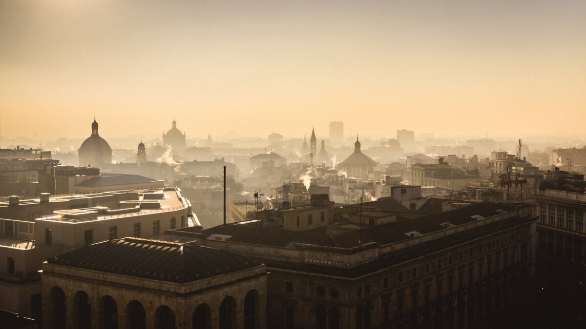 Milan, Italy. Milan is considered to be the capital of fashion and luxury. It is modern megalopolis, that is still able to show its' actual historical face.