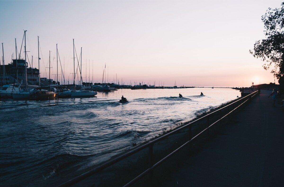 Päikeseloojang Pirital