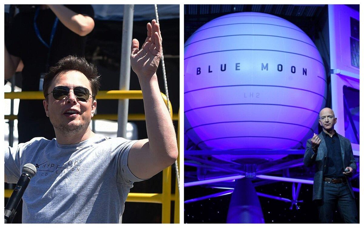 Elon Musk ja Jeff Bezos