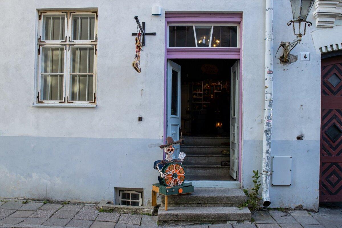 """""""Повезло — я нашла уютное небольшое пространство на улице Rüütli с приятным окружением"""""""