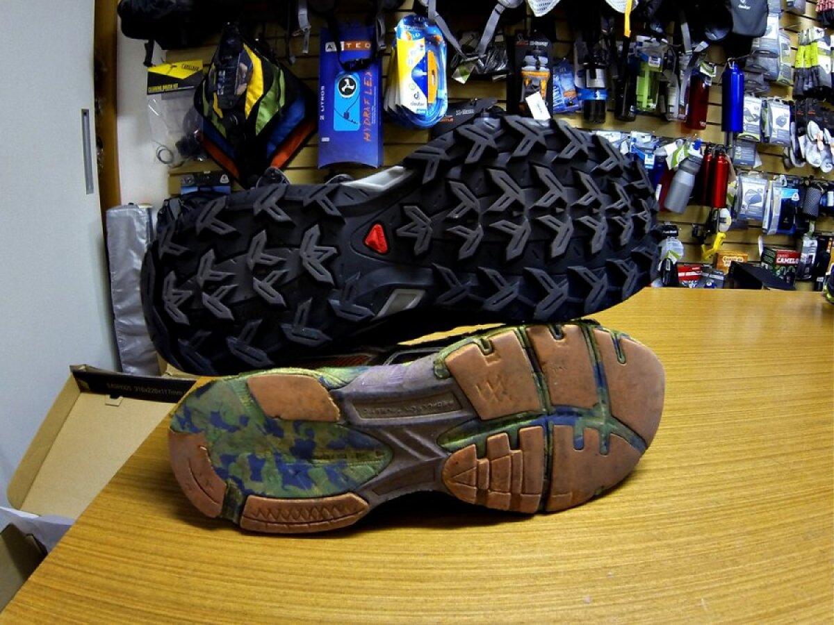 Uus ja vana jalats.