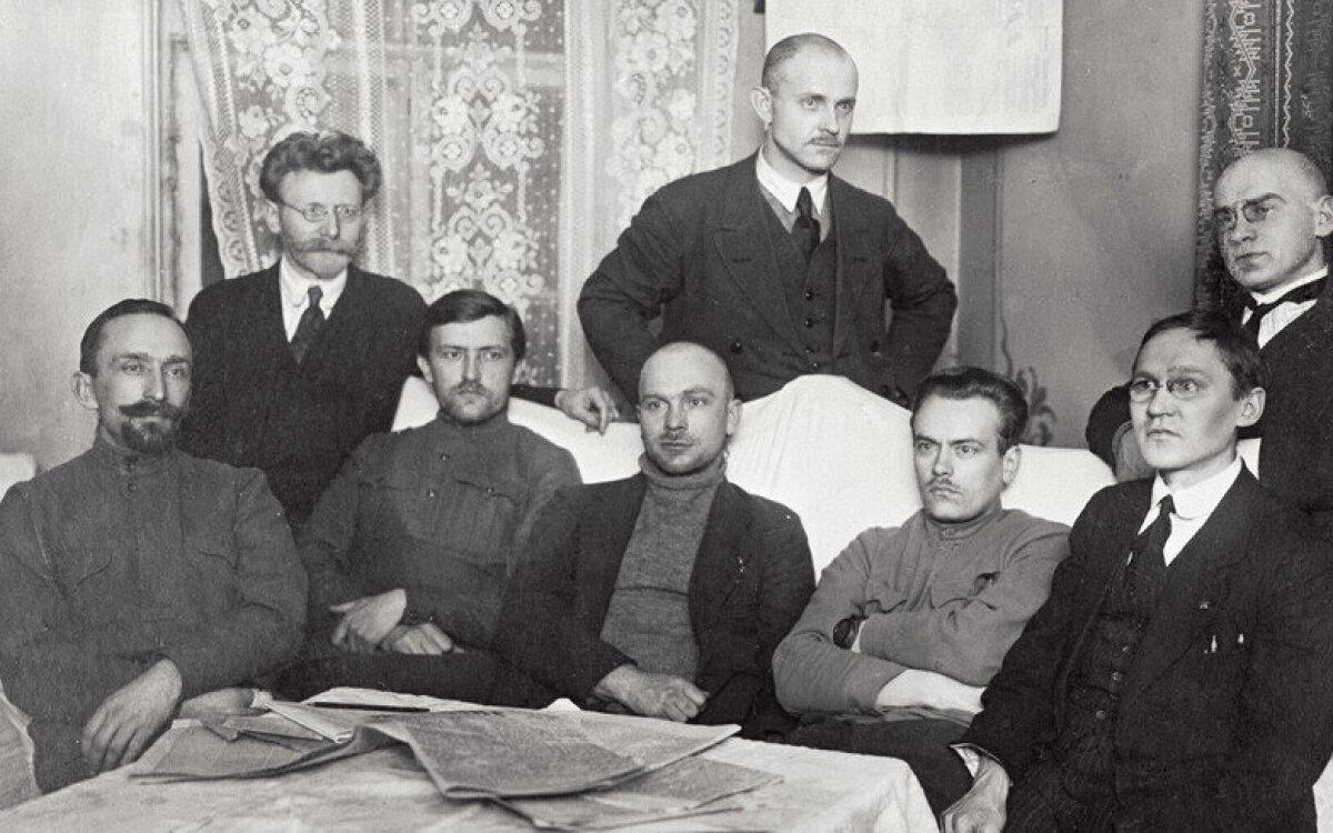 Члены совета Эстляндской трудовой коммуны.