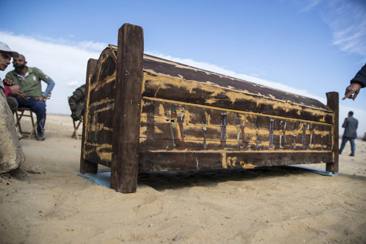 Puust sarkofaag (foto: AFP / Scanpix)