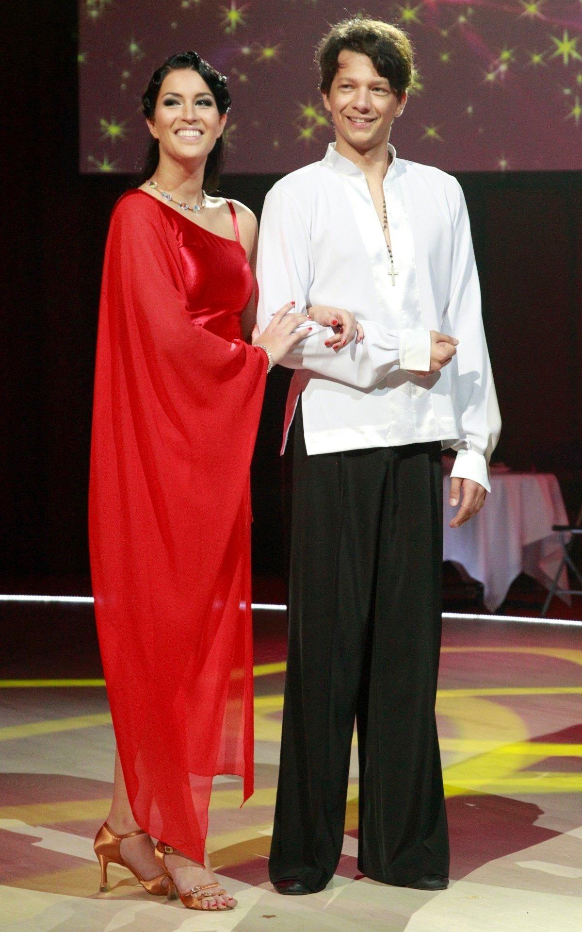 SÄRAV PAAR Tantsija Karina Veismann ja muusik Stig Rästa leidsid teineteist tantsusaates.