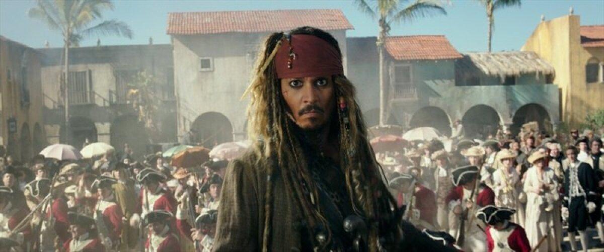 """Johnny Depp filmis """"Kariibi mere piraadid: Salazari kättemaks"""""""