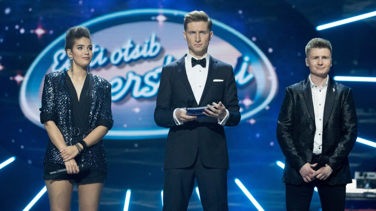 """Hetk enne """"Eesti otsib superstaari"""" viimase saate võitja väljakuulutamist."""