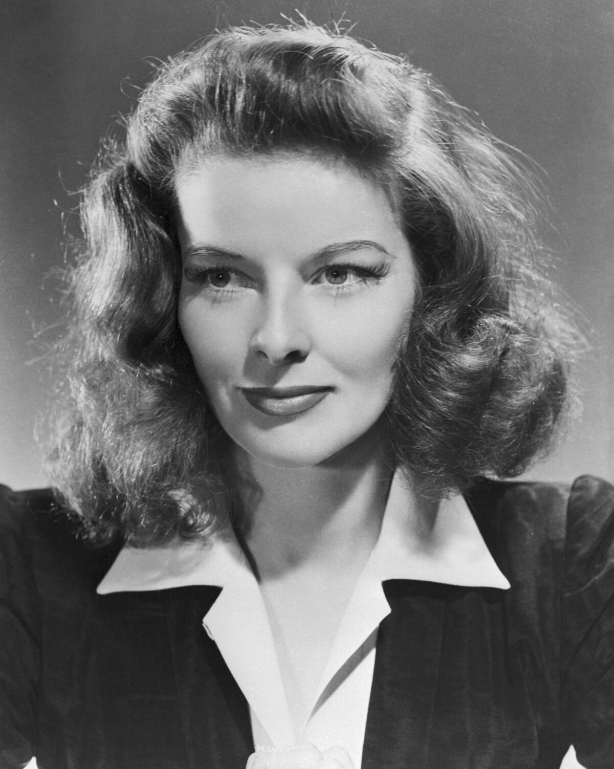 Näitlejanna Katherine Hepburn.
