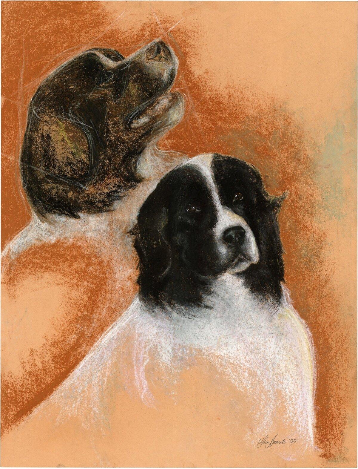Ingridi koerad maalil