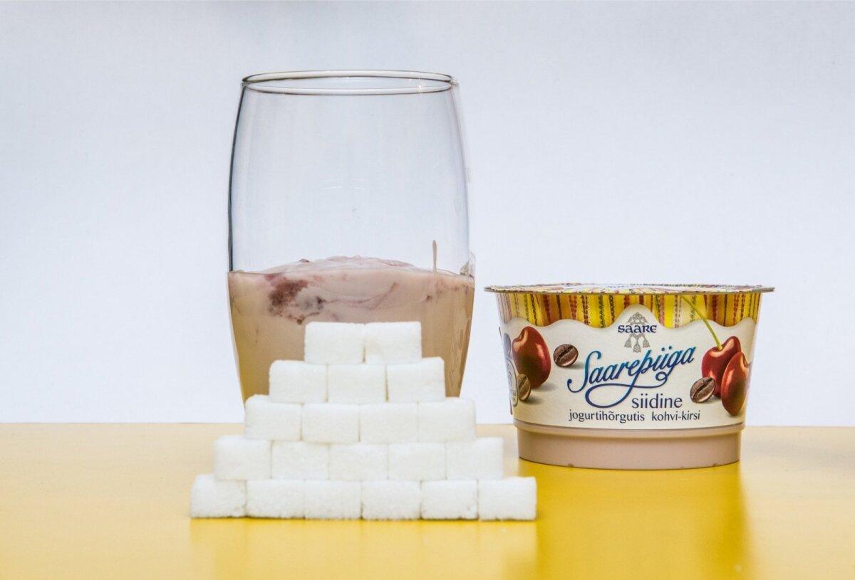 Saarepiiga kohvi-kirsi jogurt (Saare)