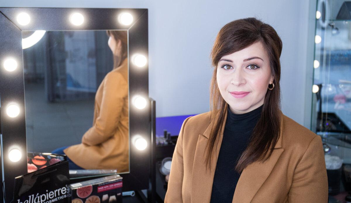 Модель: Ирина Джемджела, представитель брендов Nanoasia и Bellapierre в Эстонии