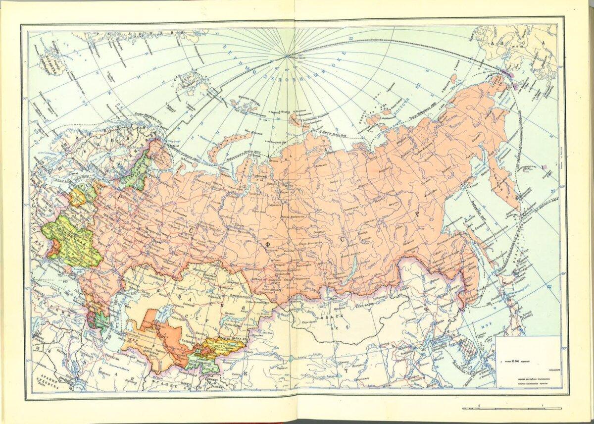 Nõukogude Liidu kaart
