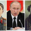 Küsitlus: venemaalased peavad kõigi aegade ja rahvaste väljapaistvamateks inimesteks Stalinit, Putinit ja Puškinit