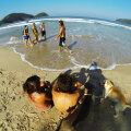 Trindade paradiislik rand Rio lähedal.