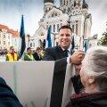 Keskerakonna meeleavaldus Jüri Ratase toetuseks