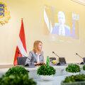 Кая Каллас обсудила с латвийским премьером борьбу с пандемией и инфраструктурные проекты